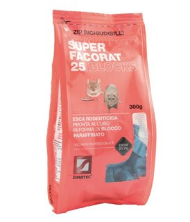 SUPER FACORAT 25 BLOCKS – 300G